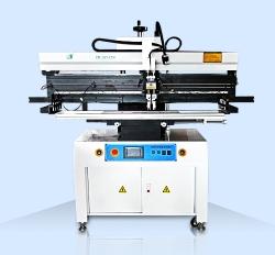 1.2米灯条半自动锡膏印刷机         ZB-32125H