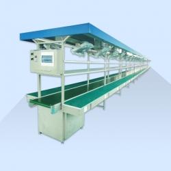 流水线工作台车间皮带流水线自动化生产线装配传送带实验检验拉线可定制