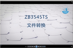 ZB3545TS file transform